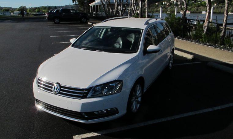 2011 VW PASSAT - BONNET