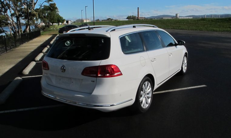 2011 VW PASSAT - DRIVERS SIDE VIEW