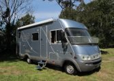 2006 Hymer MotorHome - Side View