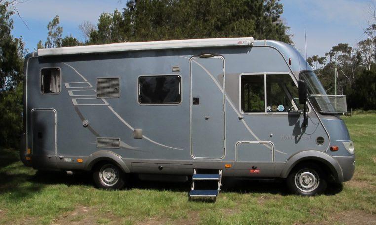 2006 Hymer MotorHome - Side View