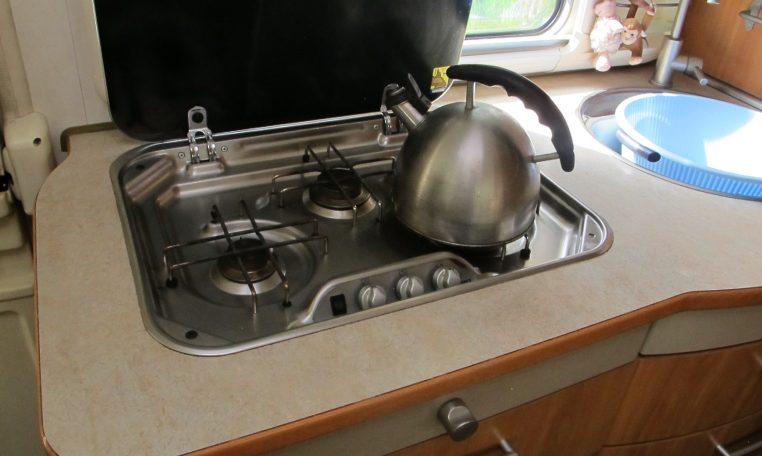 2006 Hymer MotorHome - Gas Cooker