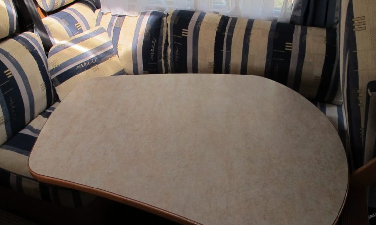 2006 Hymer MotorHome - Dining Table