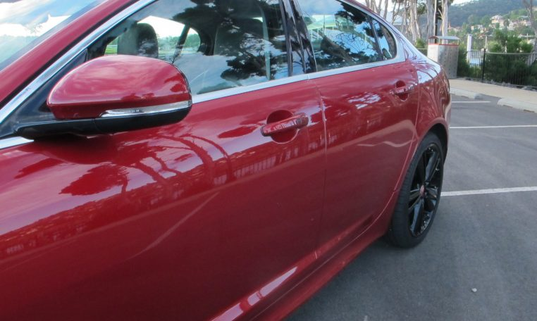2015 Jaguar XF - Side View