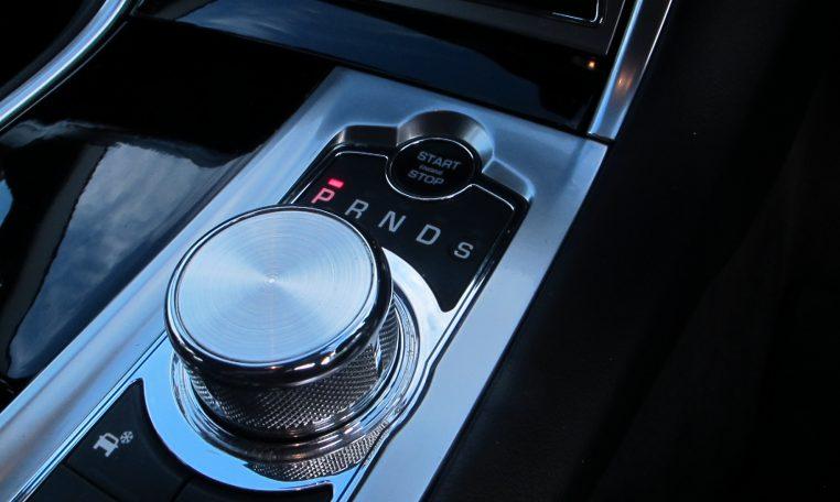 2015 Jaguar XF - Gear Shifter