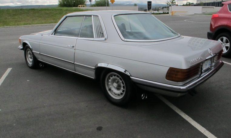 1974 Mercedes Benz - Passenger Side