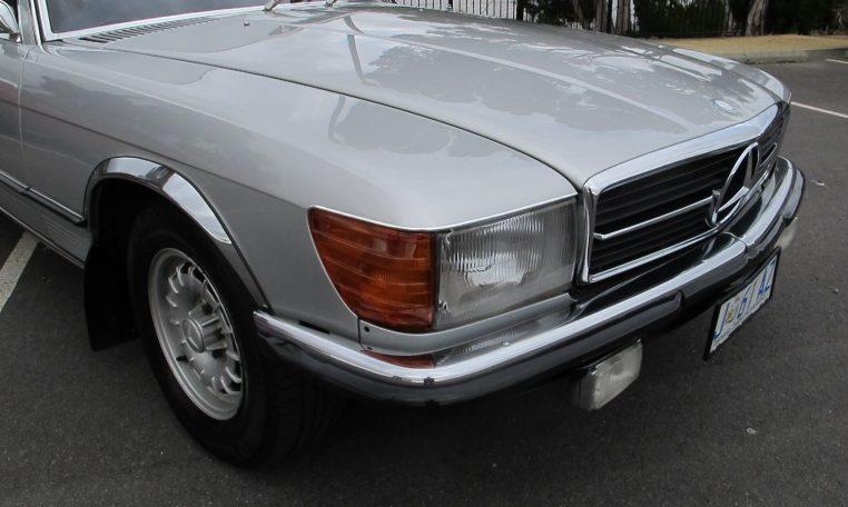 1974 Mercedes Benz - Headlight
