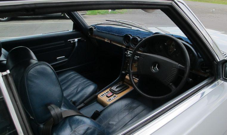 1974 Mercedes Benz - Cockpit