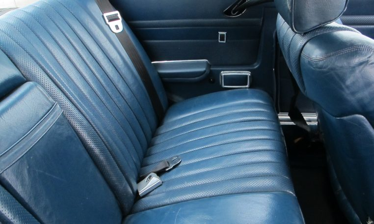 1974 Mercedes Benz - Back Seat