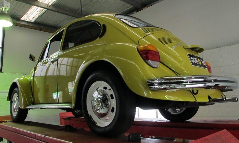 1974 VW Beetle - Rear Wheel