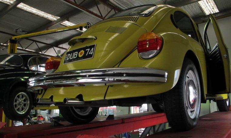 1974 VW Beetle - Rear Bumper