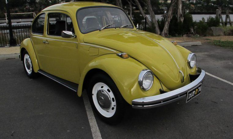 1974 VW Beetle - Drivers Sidde View