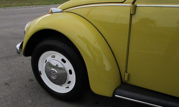 1974 VW Beetle - Front Wheel