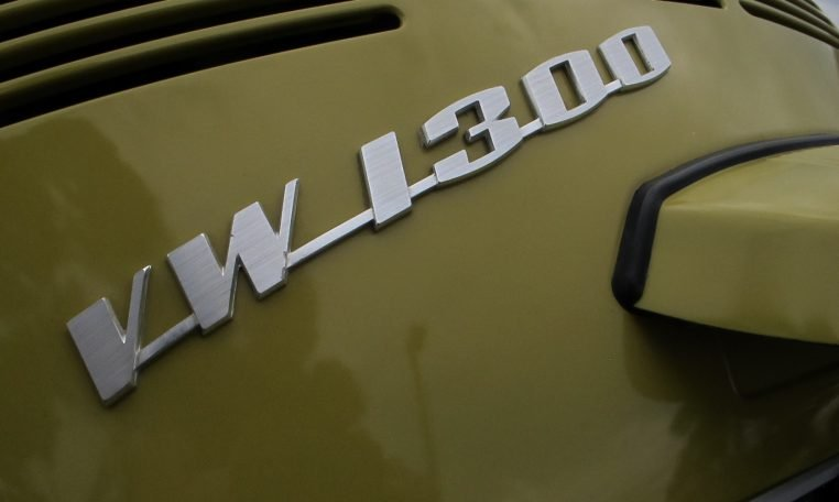 1974 VW Beetle - Badge