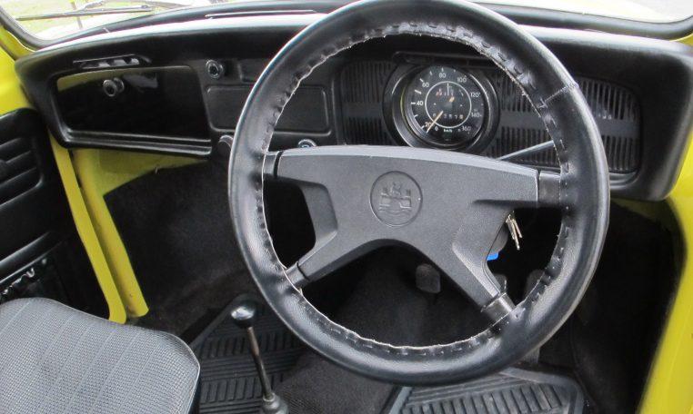 1974 WV Beetle - Steering Wheel