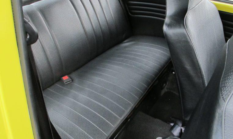 1974 VW Beetle - Back Seat