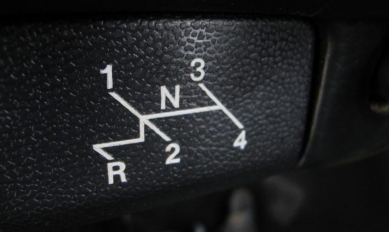 1974 VW Beetle - Gear Shift
