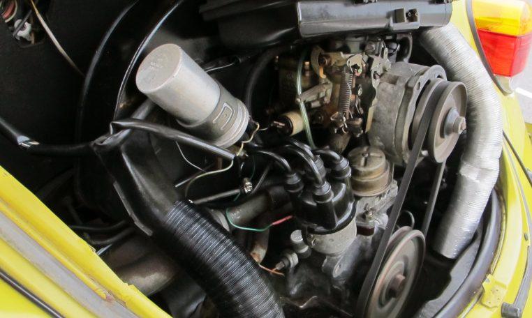 1974 VW Beetle - Engine