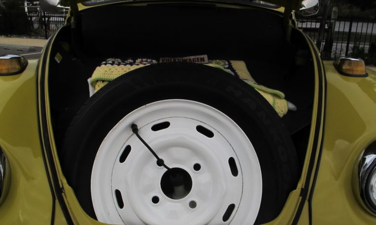1974 VW Beetle - Spare Wheel